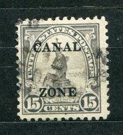 Panama Kanalzone Nr.63 A II         O  Used       (043) - Canal Zone