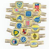 24 Cigar Bands Hudson Automerken Car Brands - Bagues De Cigares