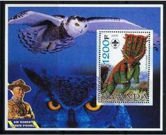 Ruanda 2005 Dinosaures Dinosaurs  Lord Baden POWELL Scoutism Rapace - Prehistory