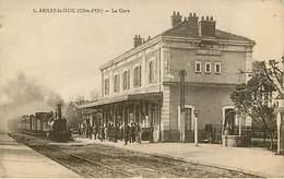 21 : Arnay Le Duc : La Gare Train - Arnay Le Duc