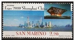 San Marino: Veduta Di Pudong, Vue De Pudong, View Of Pudong - 2010 – Shanghai (China)