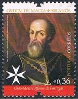 Portugal - Alfonso Du Portugal, 12e Grand Maître De L'ordre Souverain De Malte 3865 (année 2013) Oblit. - 1910-... République
