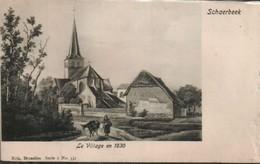 Schaerbeek Le Village En 1830 - Schaerbeek - Schaarbeek
