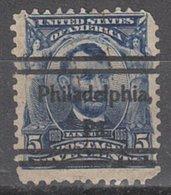 USA Precancel Vorausentwertung Preo, Locals Pennsylvania, Philadelphia 304-L-1 E, Var 1, Perf. Not Perfect - Vereinigte Staaten