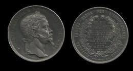 MEDAILLE DE L'ALLIANCE FRANCO-SARDE POUR L'INDEPENDANCE DE L'ITALIE . 29 AVRIL 1859 . - Royaux/De Noblesse