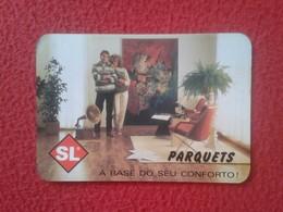 CALENDARIO DE BOLSILLO DE MANO PORTUGAL PORTUGUESE CALENDAR 1989 SL PARQUETS SARDINHA & LEITE MADEIRAS DERIVADOS VER FOT - Calendarios