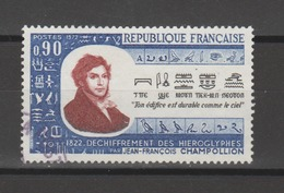 FRANCE / 1972 / Y&T N° 1734 : Jean-François Champollion - Choisi - Cachet Rond - France