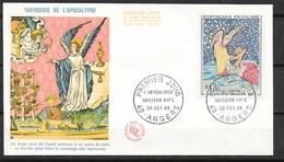 FDC   Lettre Illustrée Premier Jour Angers   30/10/1965 N°1458 Tapisserie De L'Apocalypse TB .soldé à Moins De 20 %! ! ! - 1960-1969