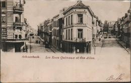 Schaerbeek Les Rues Des Ailes Et Rue Quinaux - Schaerbeek - Schaarbeek