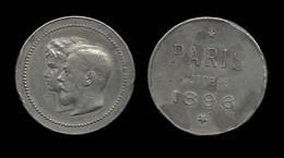 RUSSIE . VISITE DU TSAR NICOLAS II ET ALEXANDRA A PARIS EN OCTOBRE 1896 . - Royaux / De Noblesse