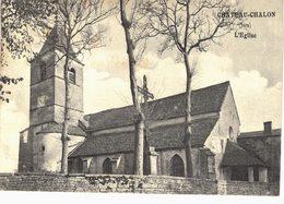 Carte Postale Ancienne De  CHÂTEAU CHALON - Frankrijk