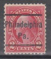 USA Precancel Vorausentwertung Preo, Locals Pennsylvania, Philadelphia 634-L-11 HS - Vereinigte Staaten