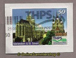 L13) Privatpost -  THPS - Kirchen Erfurt - BRD
