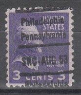 USA Precancel Vorausentwertung Preo, Locals Pennsylvania, Philadelphia L-35 IHS - Vorausentwertungen