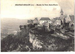Carte Postale Ancienne De  CHÂTEAU CHALON - France