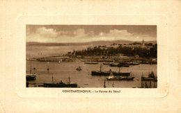 Constantinople / Istanbul - LE POINTE DU SERAIL TURQUIE TURQUIA - Turquia