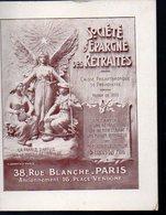 Paris : Livret Explicatif SOCIETE EPARGNE DES RETRAITES 1909 (PPP12187) - Livres, BD, Revues
