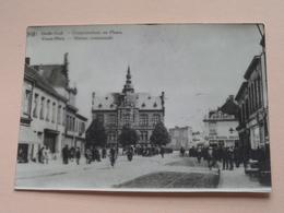 Gemeentehuis En Plaats - Maison Communale OUDE GOD / VIEUX DIEU ( REPRO - COPY Van Postkaart ) ! - Mortsel