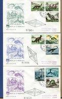 SAN MARINO - FDC  CAPITOLIUM - 1965 - DINOSAURI - ANIMALI PREISTORICI - FDC