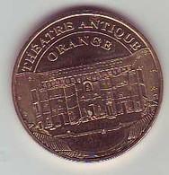 (Medailles). Monnaie De Paris Theatre Antique Orange 2009 - Monnaie De Paris