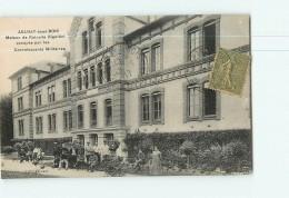 AULNAY Sous BOIS - Maison De Retraite BIGOTTINI , Maison De Convalescence Militaire - Animée -   2 Scans - Aulnay Sous Bois