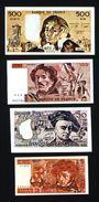 Série De Billets De Jeu En Francs (lot N°608) - Specimen