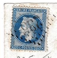 Lettre Auriac 1868 Pyrénées-Atlantiques Château De Bellegarde Masseube Gers Arthur De Monts - Marcofilie (Brieven)
