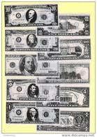 Liasse De 10 Billets Factices US DOLLARS (neuf-UNC)(N°526-4) - Etats-Unis