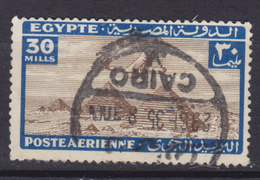 Egypt Egypte 1933 Mi. 175     30 M Flugzeug über Den Pyramiden Von Giseh - Egypt