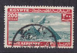 Egypt Egypte 1933 Mi. 183     200 M Flugzeug über Den Pyramiden Von Giseh - Egypt
