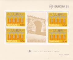 Portugal, 1984, 1630 Block 43, Europa.  MNH ** - Blocks & Sheetlets