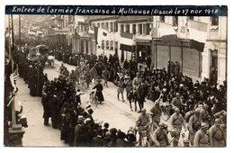 Mulhouse / Entrée De L'armée Française / 17 Novembre 1918 - Mulhouse