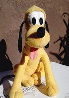 PLUTO DOG Disney Doll Vintage Plush Stuffed Animal Toy 10'' - Cuddly Toys