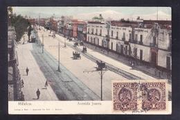 MEX-41 MEXICO AVENIDA JUAREZ - Mexico