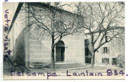 - BOURDEAUX - ( Drôme ),  Le Temple Protestant, écrite, Pour Saillans, TBE, Scans.. - France