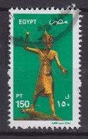 Egypt Egypte 2002 Mi. 1563     150 P Vergoldete Holzstatuette Des Tut-ench-Amun - Egypt