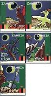 Ref. 75001 * MNH * - ZAMBIA. 2001. ECLIPSE SOLAR DEL 21 DE JUNIO - Zambia (1965-...)