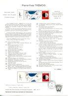 Notice TAAF - Yvert  PA 89 - Pierre-Yves Trémois - GFD 55 - Terres Australes Et Antarctiques Françaises (TAAF)