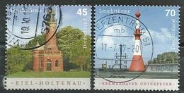 ALEMANIA 2017 - Leuchttürme - Used Stamps