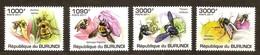 Burundi  2011 OCBn° 1230-1233 *** MNH Cote 15 Euro Faune Bijen Abeilles Bees - Burundi