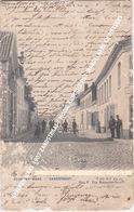 BEVEREN WAAS 1907 ZANDSTRAAT / MOOIE ANIMATIE MET WANDELAARS EN FIETSERS - Beveren-Waas
