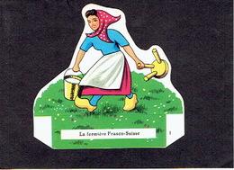 Fromage FRANCO-SUISSE Découpi Chromo N°1 La Fermière Franco-Suisse - Cromo