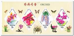 Noord Korea 2007, Postfris MNH, Flowers, Orchids - Korea (Nord-)