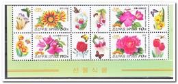 Noord Korea 2010, Postfris MNH, Flowers, Orchids, Bees, Butterflies, Roses - Korea (Noord)
