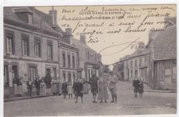 Orne - Notre-Dame-d'Aspres - La Poste Et La Route De Cuchai - Domfront