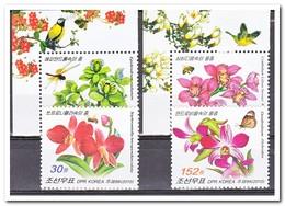 Noord Korea 2010, Postfris MNH, Flowers, Orchids, Bees, Butterflies - Korea (Noord)