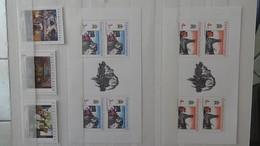 Très Belle Collection De Timbres, Blocs Et Carnets Tout Est ** De Tchecoslovaquie. Port Offert à Partir De 50E D'achats - Timbres