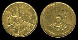 5 FRANCS BELGE 1986 - 03. 5 Francs