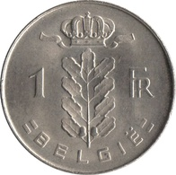 1 FRANC BELGE - 02. 1 Franc