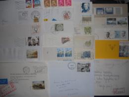 Vrac , Lot De 50 Lettres Europe Moderne - Francobolli